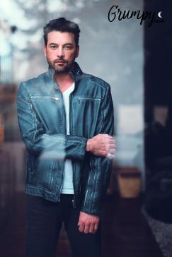 Jacket: Mister Triple X // Shirt: Calvin Klein
