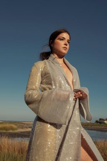 DRESS: MALAN BRETON