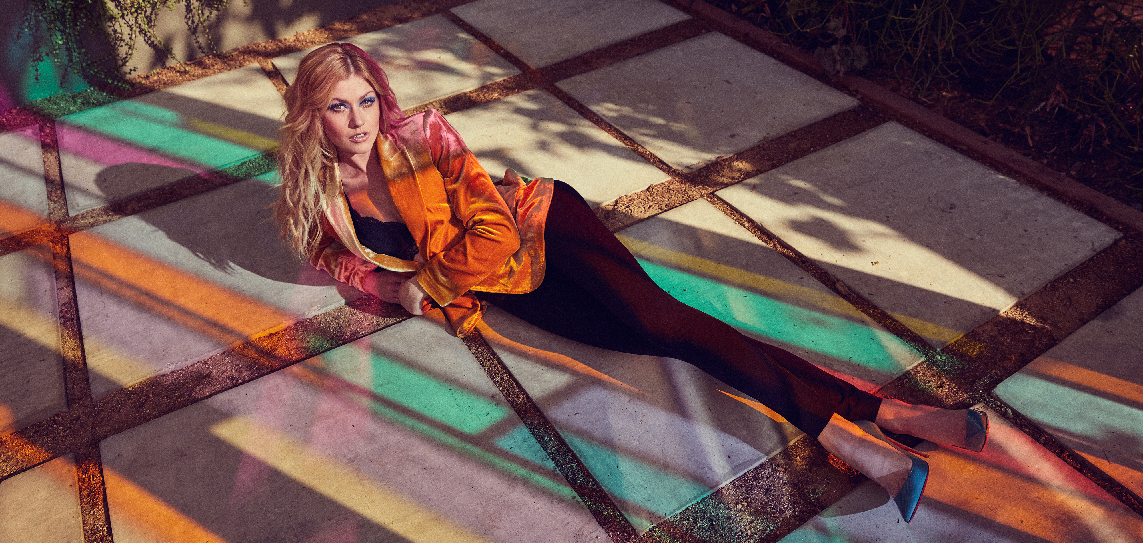 Katherine Mcnamara Knows No Limit Grumpy Magazine